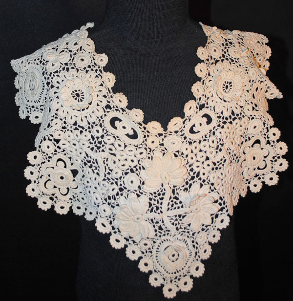 Free Irish Crochet Lace Collar Pattern Pictures to pin on ...